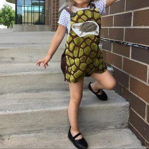 Other - Size 2/3 toddler OOAK handmade turtle romper